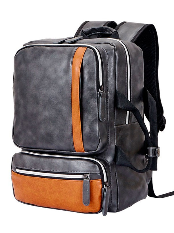 Men and Women School Bag  Computer Backpack Leisure Handbag