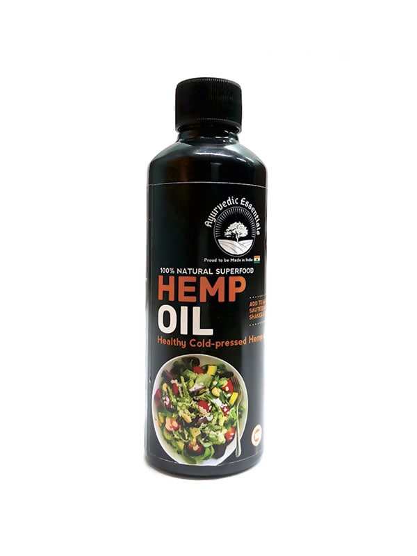 Ayurvedic Essentials Hemp Oil Combo Pack | 200 ML