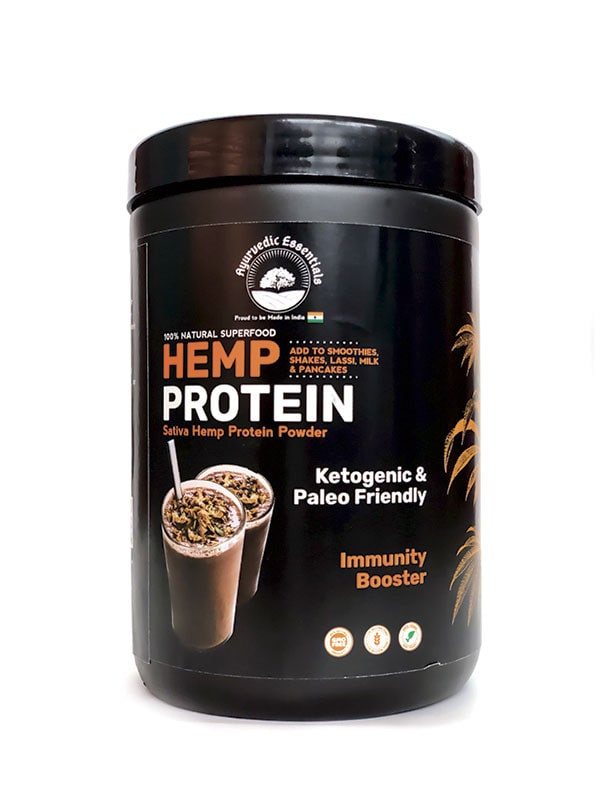 Ayurvedic Essentials Hemp Protein Powder Combo Pack | 500 GM