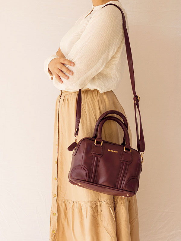 Tuesday Satchel Sling Bag - Maroon
